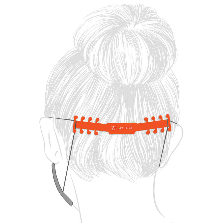 Ear Savers - Orioles Orange