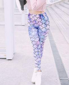 Mermaid Leggings (3 color variants)