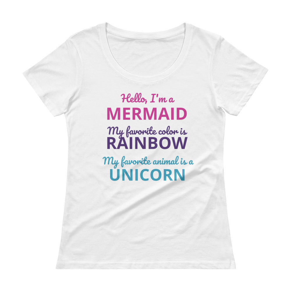 Mermaids, Rainbows, and Unicorns T-Shirt