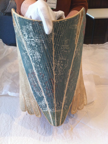 C1725-1775  SILK STAYS CARROW HOUSE COSTUME AND TEXTILE ARCHIVE NORWICH UK