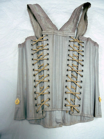 C1900-1905 CHILDRENS CORSET: SYMINGTON CORSET COLLECTION RESOURCES CENTRE (BARROW-ON-SOAR, UK)