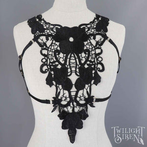 ARIA LACE BODY HARNESS BRALET