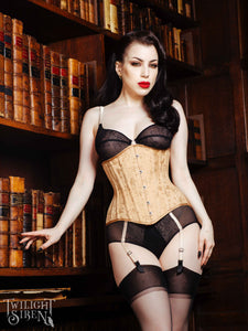 LITA COUTIL WAIST TRAINING CORSET - TWILIGHT SIREN