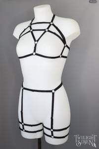 LUELLA HARNESS SET ~  XSMALL ~ UK 6-8