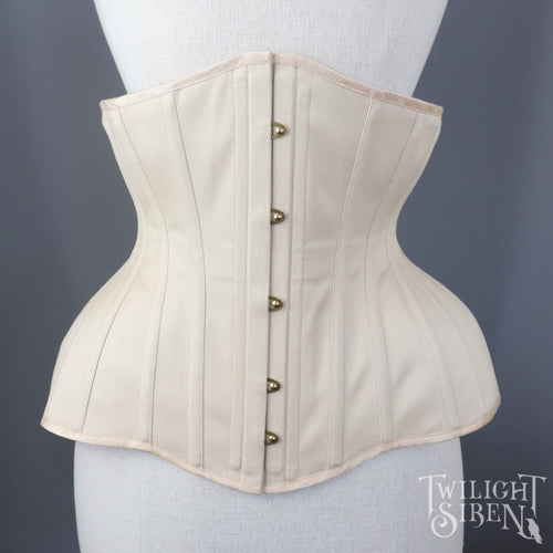 MEENA SATEEN COUTIL WAIST TRAINING CORSET