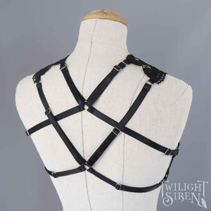 NOX LACE BODY HARNESS BRALET