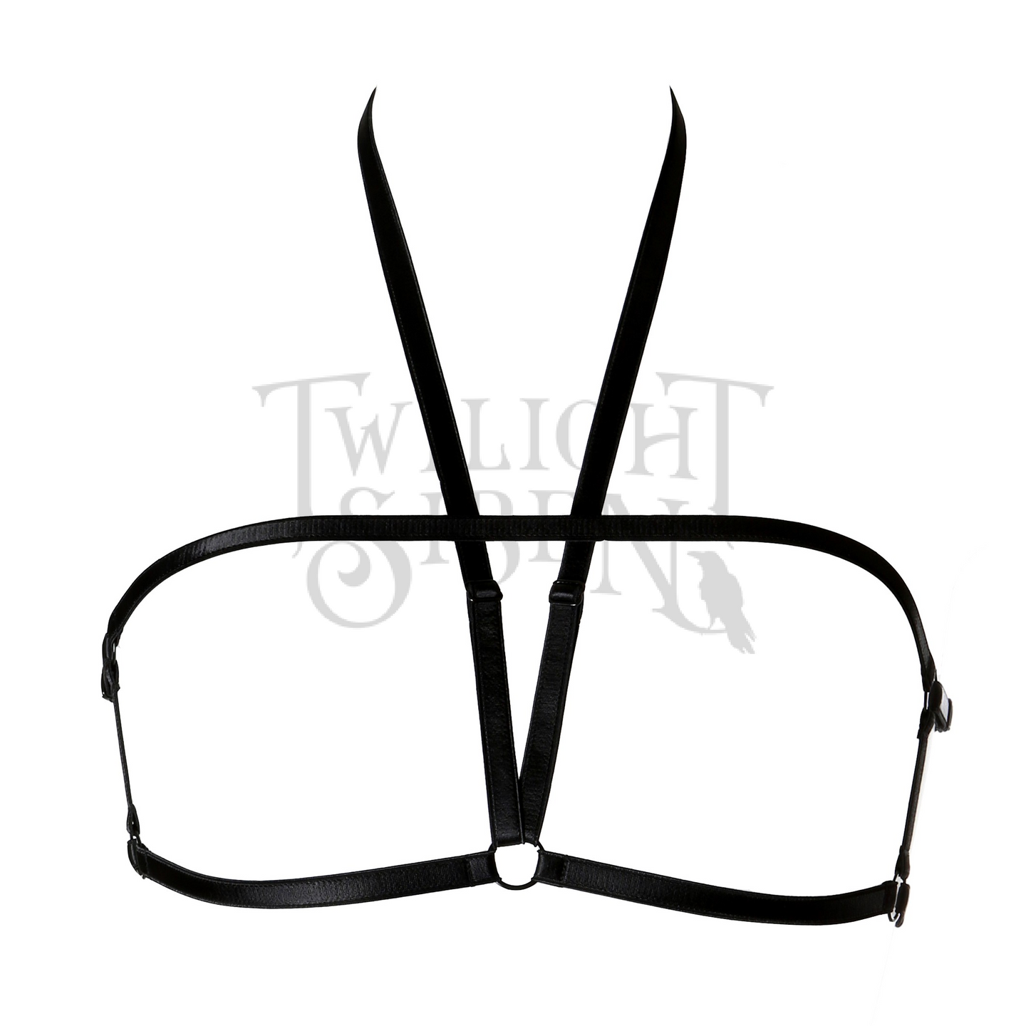 TORI elastic body harness bralet black- Twilight Siren