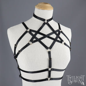 HEXAGRAM BODY HARNESS LONGLINE BRALET