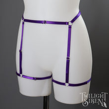 ASTA LEG BODY HARNESS SUSPENDER PURPLE