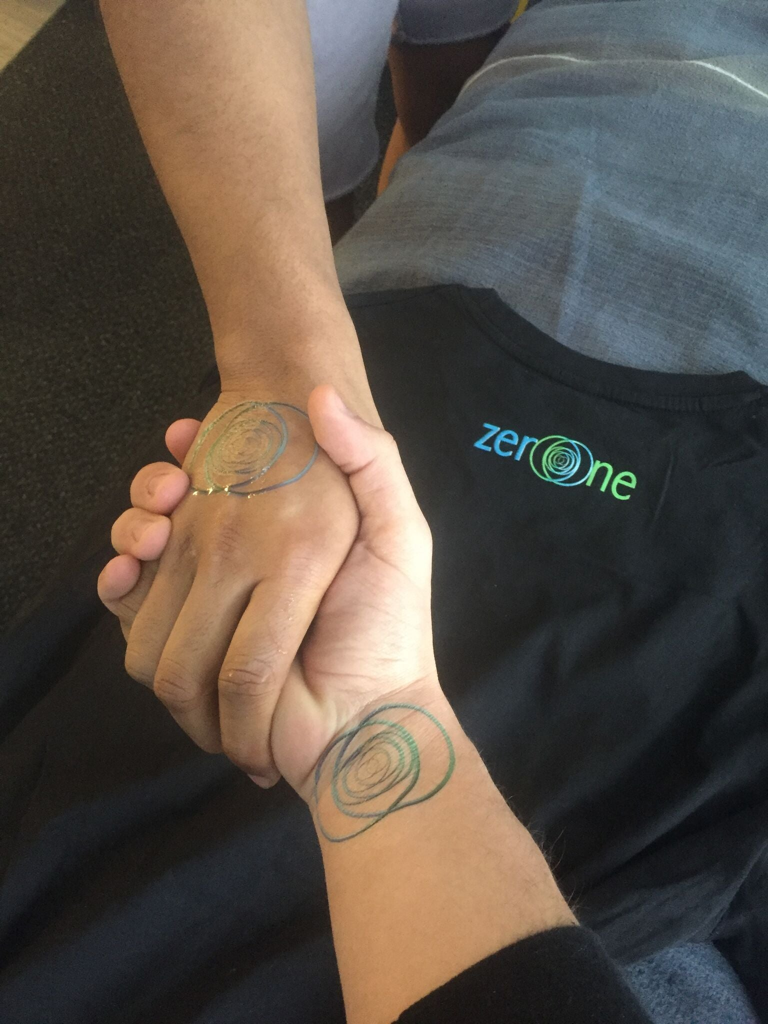 zeroone™ QRas® Tattoo (Gifted at no charge - you only pay for shipping)