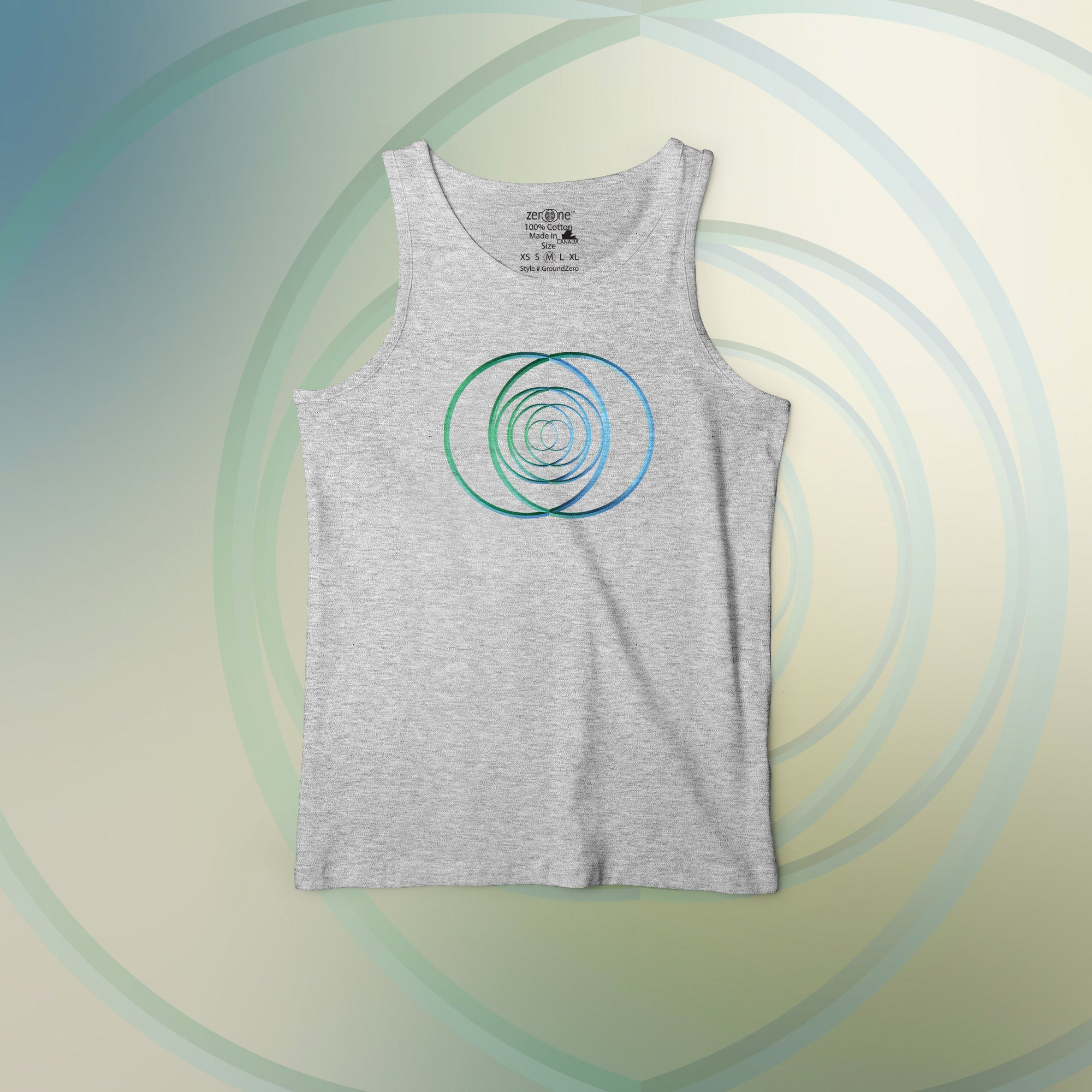 zeroone™ Groundzero Men's Tank Top