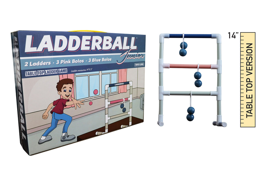 Indoor Ladder Toss: Ladder Ball Junior-Miniature Tabletop Game