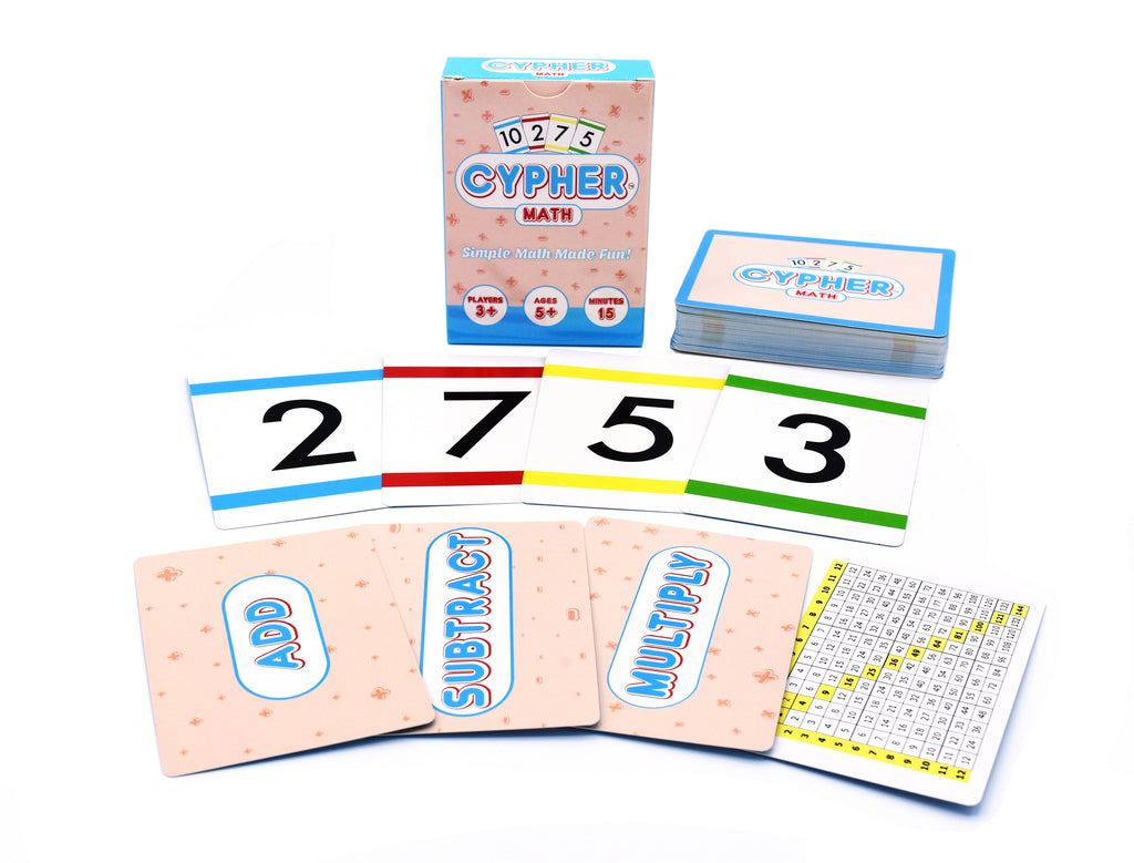 Cypher: Innovative Math Learning Card Game
