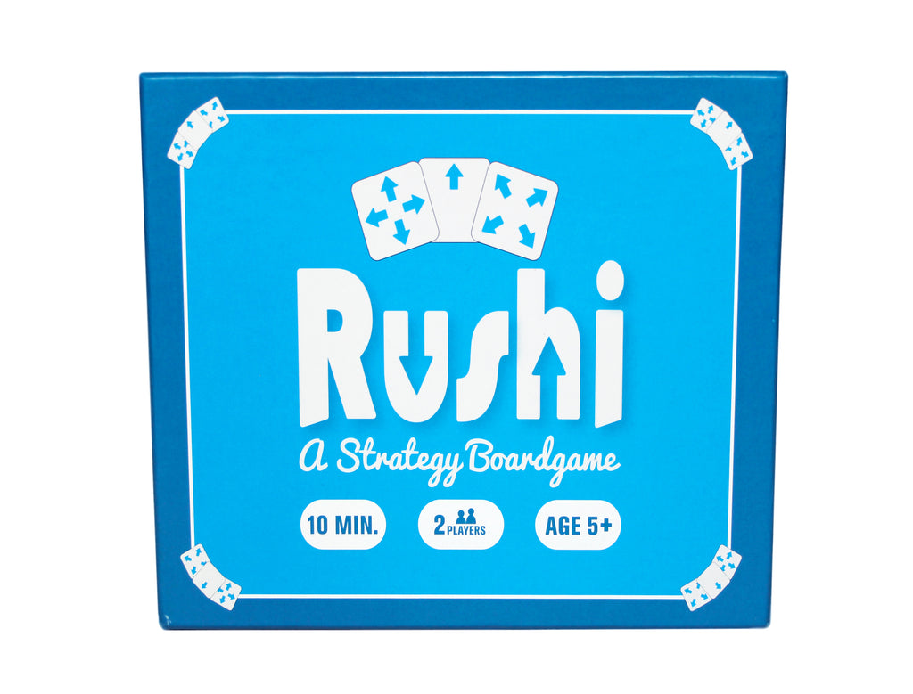 Rushi Strategy Tile Game: 2 Player Board Game