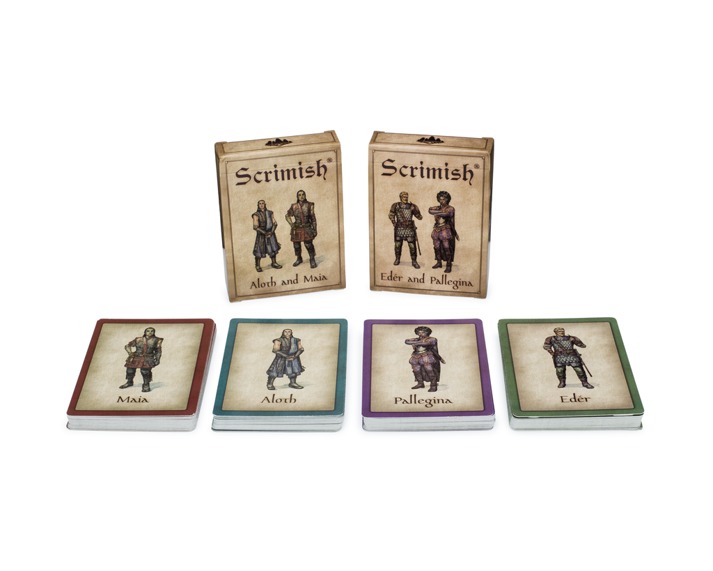 Scrimish: Strategy Card Game: Easy to Learn Portable Game for All Ages