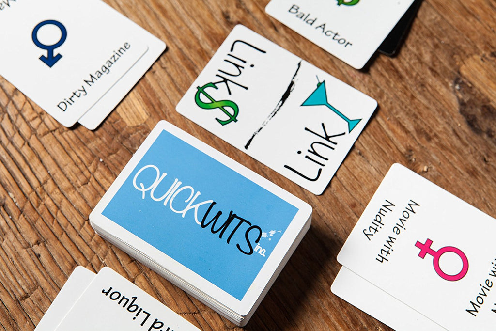 Quickwits Party Card Game: A Fun and Social Adult Game