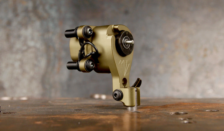 Adam Ciferri x Mike Giant OLIVE GOLD Diamond Direct Drive Rotary