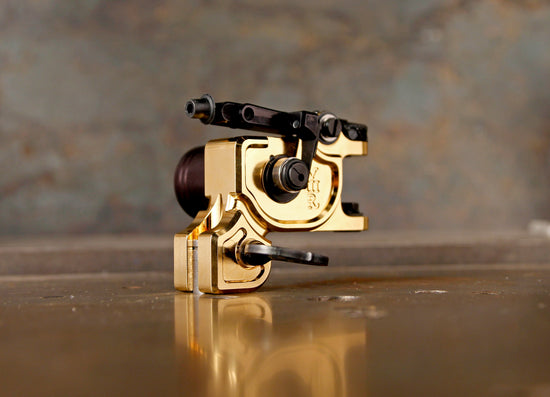 New UPDATED Dan Kubin Gold V3R Sidewinder