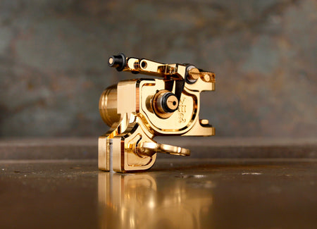 New UPDATED Dan Kubin Gold on Gold V3R Sidewinder
