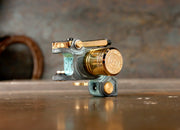 New UPDATED Dan Kubin Gold Verdigris Patina V3R Sidewinder