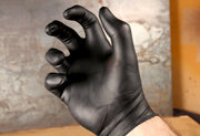 Adenna Shadow Black Nitrile Powder Free Gloves - Case of 1000