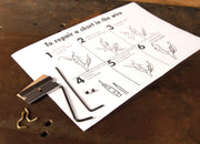 Bowers Clipcord Repair Kit