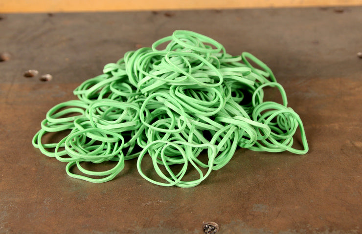 Green Rubber Bands
