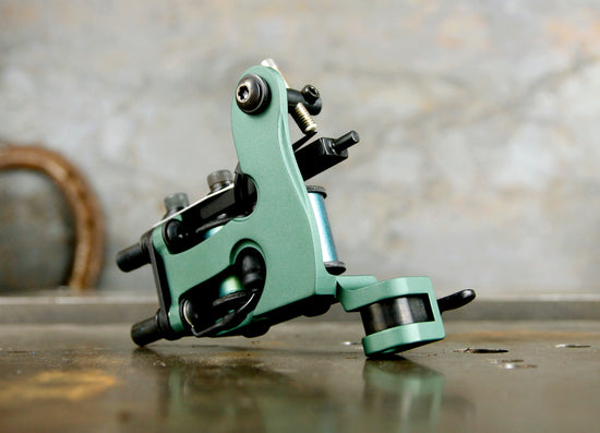 Limited Seth Ciferri Aluminum Micro Jones Shader - Green on Green