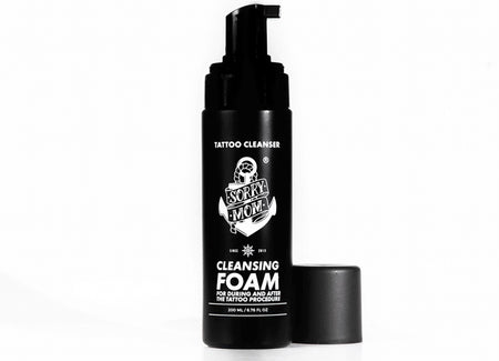 Sorry Mom Foam Tattoo Cleanser