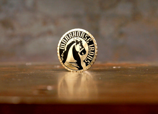 Workhorse Irons Lapel Pin