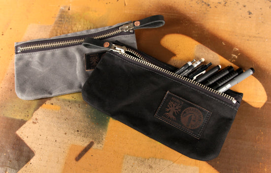 Workhorse x Sidnaw Company Zipper Pouch - Black