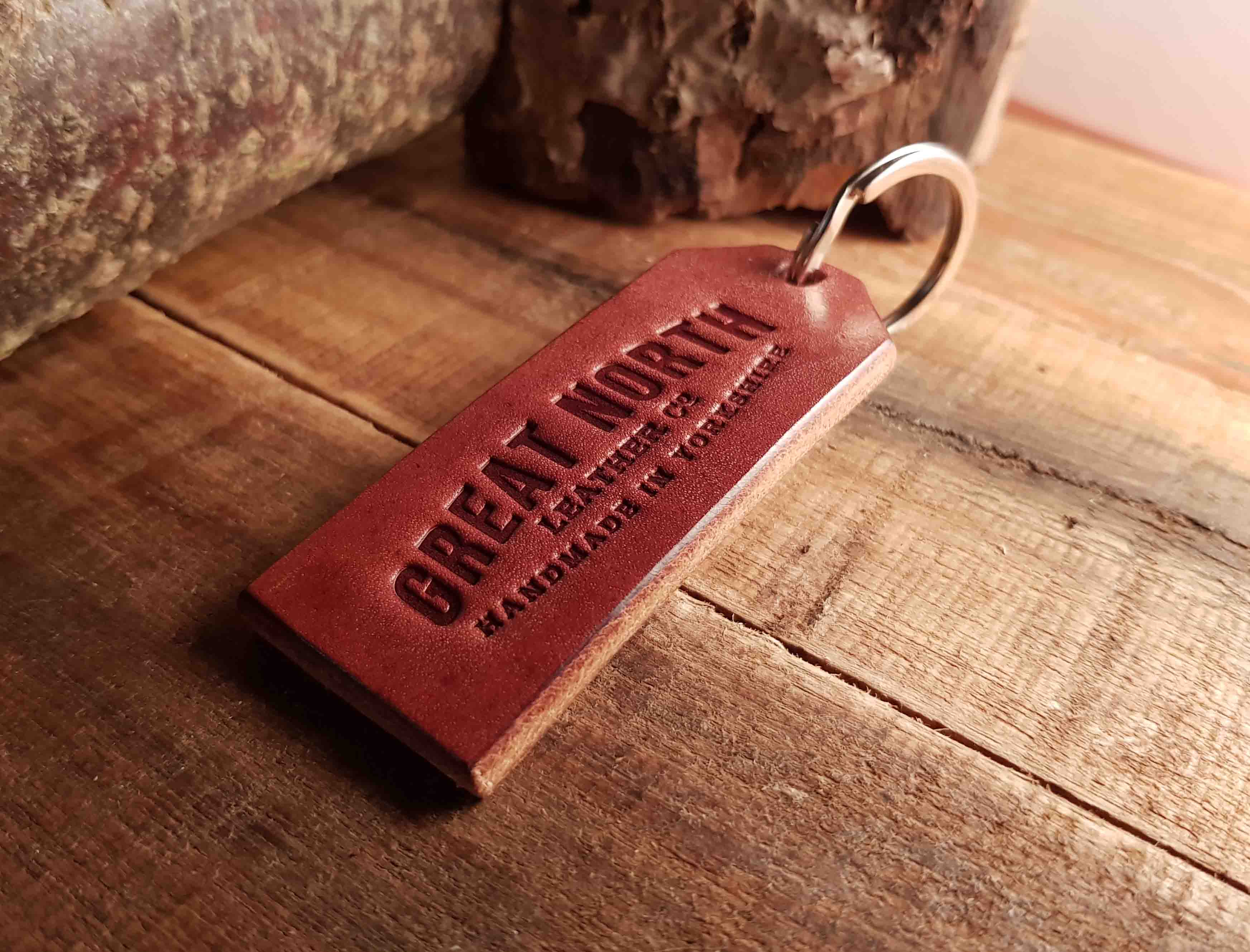 Oak Bark Keyring