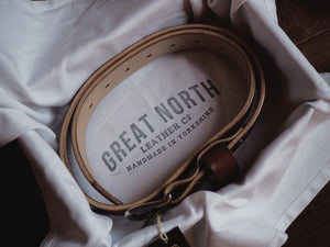 The Great North Belt (Antique Brass)