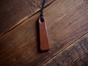 Oak Bark Necklace