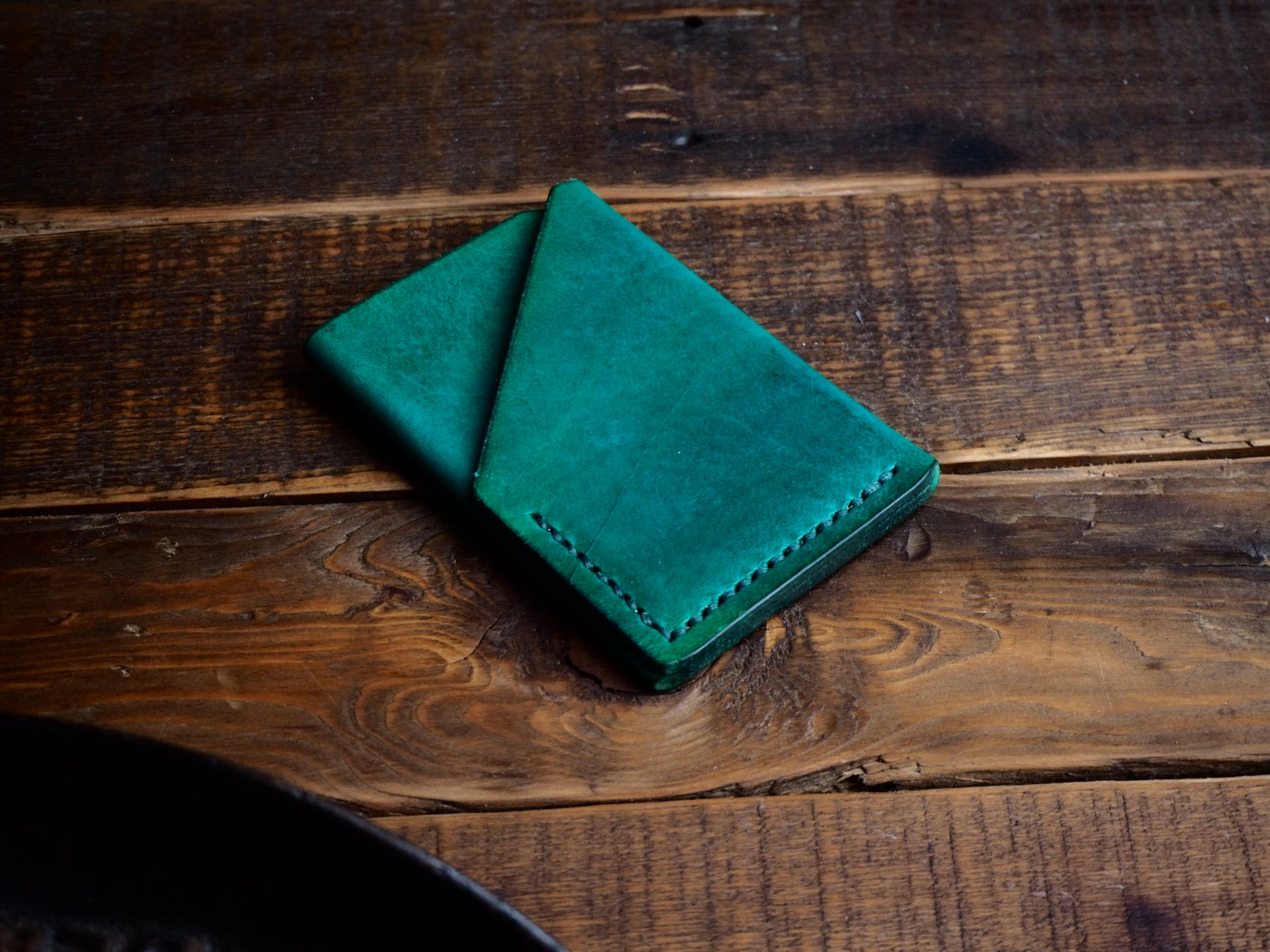 The Ugly Duckling Wallet (Forest Green)
