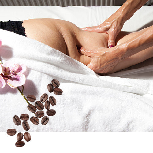 ANTI-CELLULITE MASSAGE OIL WITH COFFEE