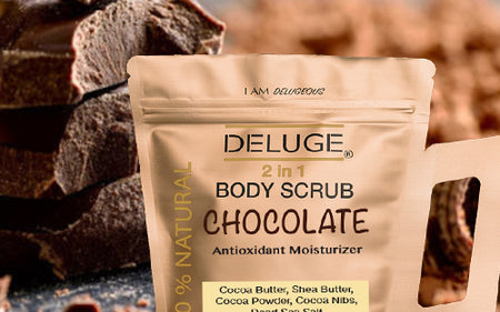 OUR CHOCOLATE SCRUB FORMULA