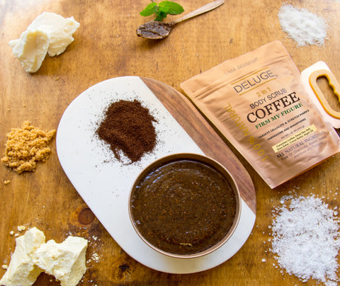 DELUGE Coffee Scrub