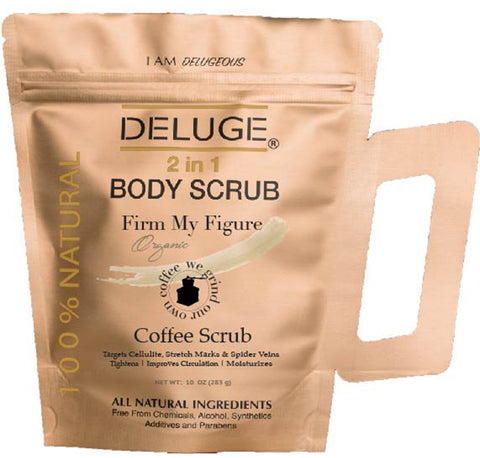 Coffee Scrub 10 oz deluge
