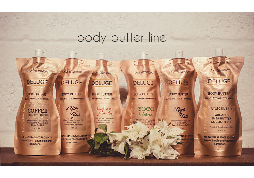 NATURAL BODY BUTTER - AFTER GLOW