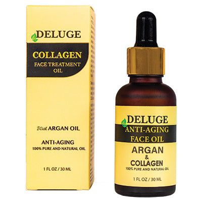 FACE TREATMENT OIL WITH COLLAGEN