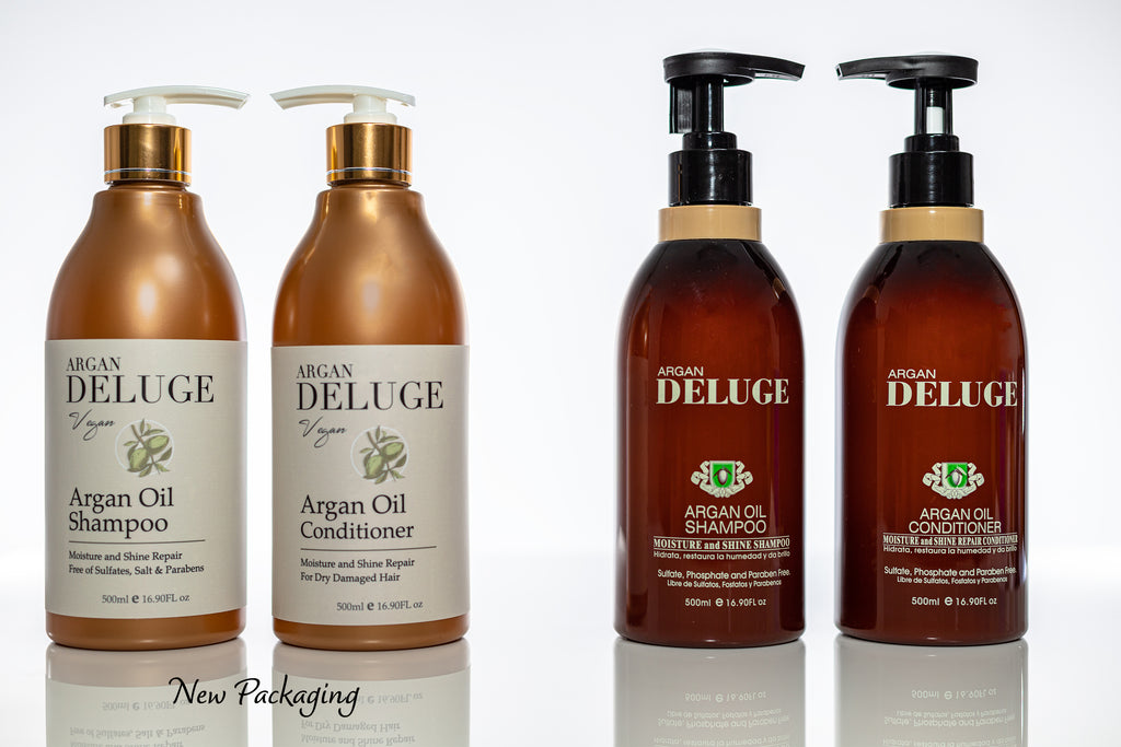 SULFATE FREE ARGAN OIL SHAMPOO AND CONDITIONER