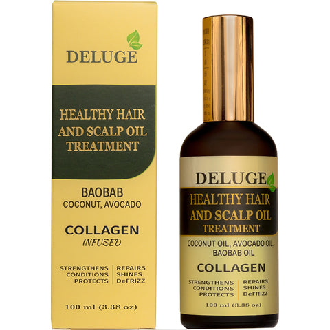 Healthy Hair and Scalp Oil Treatment - Net Wt 100 ml