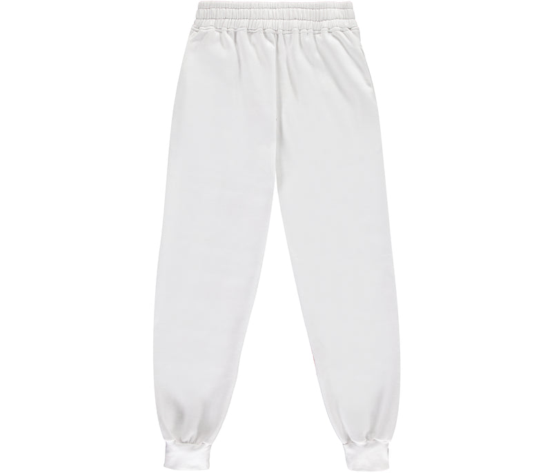 White Team Trackies
