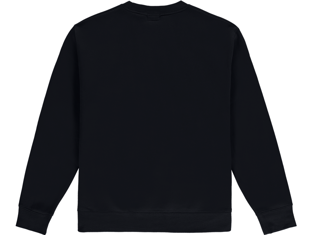Black Worldwide Crewneck