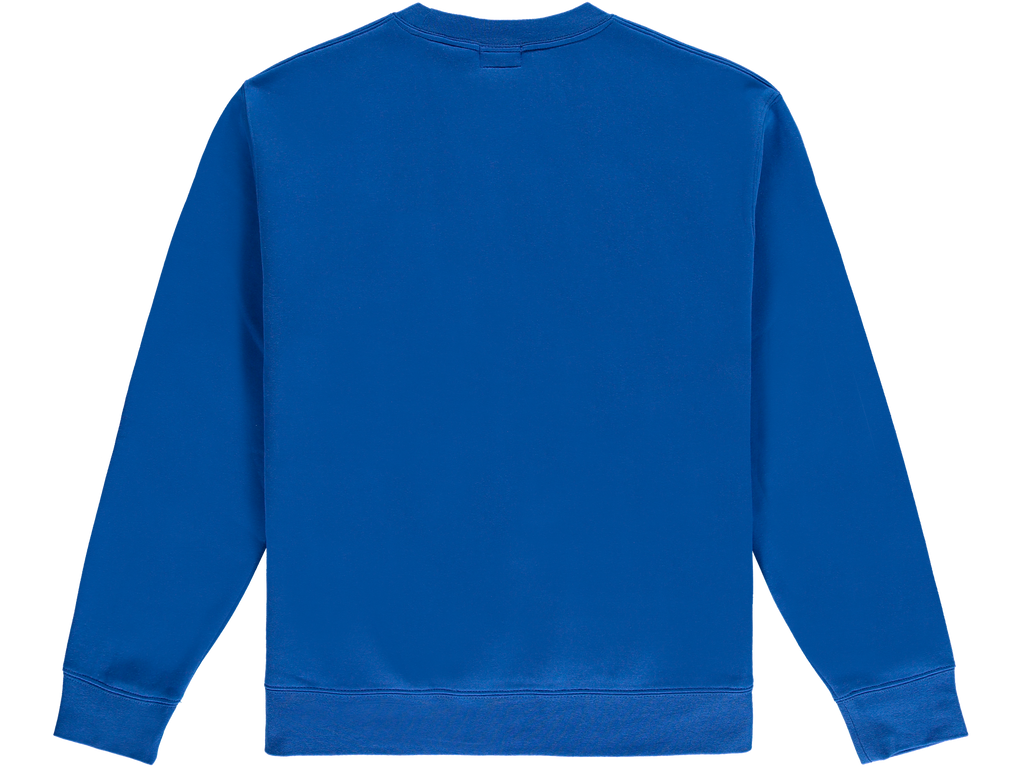 Blue Worldwide Crewneck