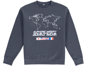 Grey Worldwide Crewneck