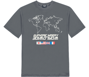 Grey Worldwide T-Shirt