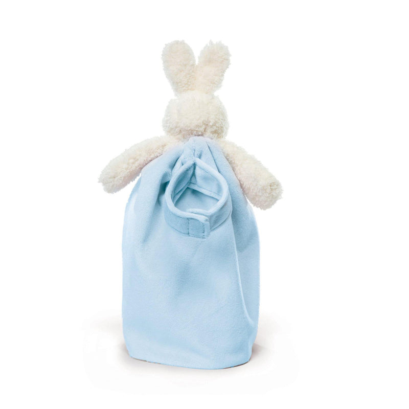 Bunnies By The Bay Bye Bye Buddy Blanket Blue