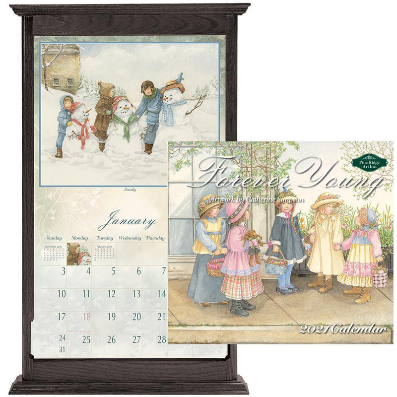 Pine Ridge 2021 Wall Calendar Forever Young